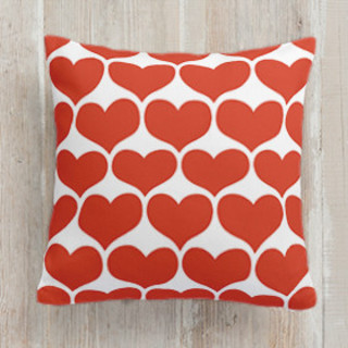 Big Hearts Self-Launch Square Pillows