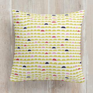 Happy daze Self-Launch Square Pillows