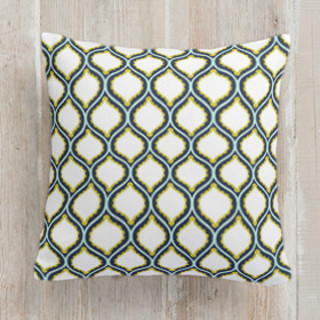 Summertime Lemonade Self-Launch Square Pillows