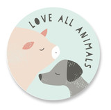 pig&pup Stickers