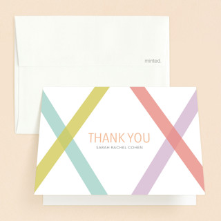 Washi Tape Mitzvah Mitzvah Thank You Cards