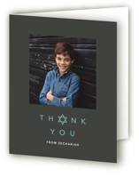 sophisticated elegance Mitzvah Thank You Cards