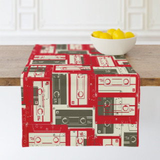 Mixed Tape Self-Launch Table runners