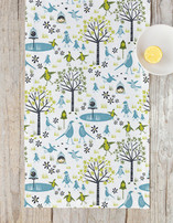 Lakeside Birds Table runners