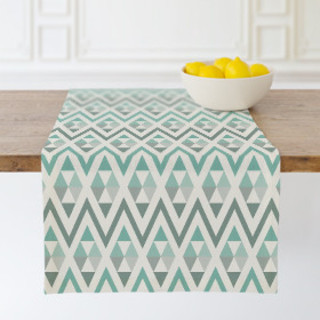 Tribal Triangle Self-Launch Table runners