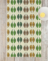 Graphic Leaves Table runners