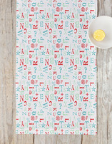 The Alphabet Table runners