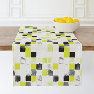 Spanish Tile Self-Launch Table runners