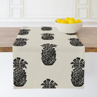 Block Print Pineapple Self-Launch Table runners