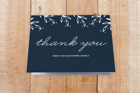 Gilded Home Moving Announcements Thank You Cards