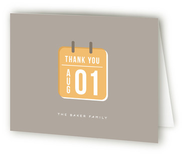 Moving Day Calendar Moving Announcements Thank You Cards