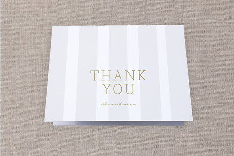 Accent Wall Moving Announcements Thank You Cards