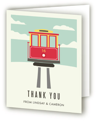 Home by the Bay Moving Announcements Thank You Cards
