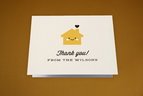 Home Sweet Home Moving Announcements Thank You Cards