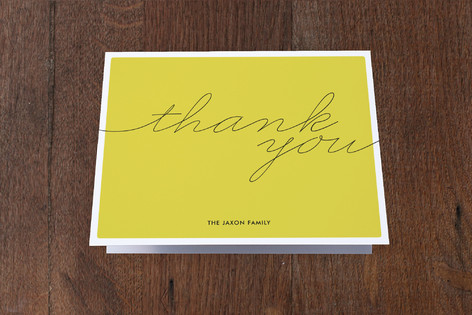 Hello Moving Announcements Thank You Cards