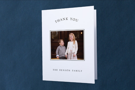 Presidential Moving Announcements Thank You Cards