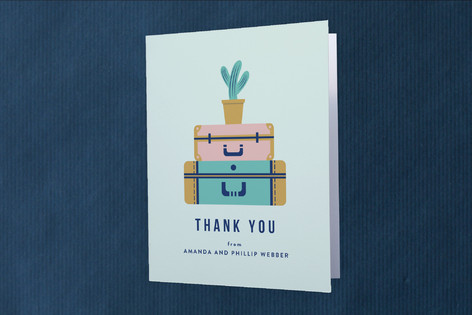 All Packed Moving Announcements Thank You Cards