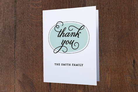 Knock on our Door Moving Announcements Thank You Cards
