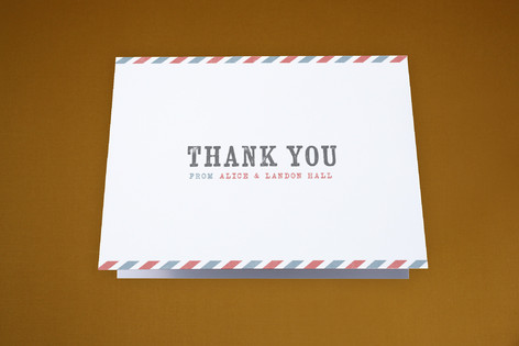 US Postcard Moving Announcements Thank You Cards