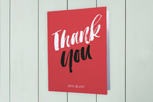 Moving Announcements Thank You Cards
