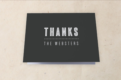 stack Moving Announcements Thank You Cards