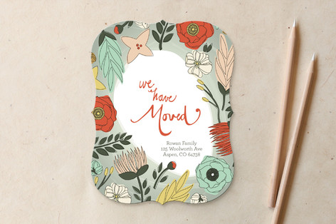 Flower Patch Moving Announcements