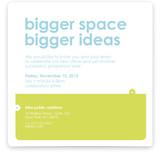 Big Space - Bigger Ideas