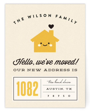Home Sweet Home Moving Announcements