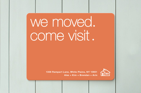 we ve moved come visit moving announcements by a minted