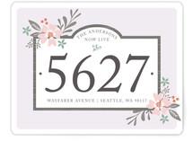 Floral Placard