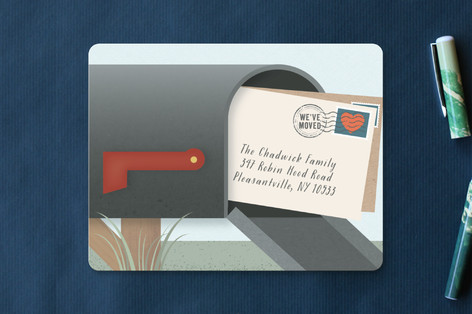 Postage Moving Announcements