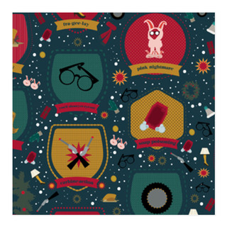 That Christmas Story Self-Launch Wrapping Paper