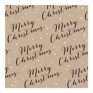 Scripted Merry Christmas Self-Launch Wrapping Paper