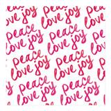 Brushy Peace Love Joy