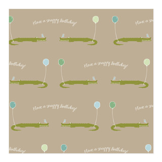 A snappy birthday Self-Launch Wrapping Paper