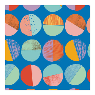 Sprinkles and Stripes Self-Launch Wrapping Paper