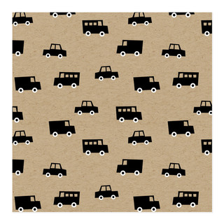 Boys Toys Honk! Beep! Toot! Self-Launch Wrapping Paper