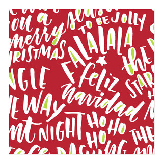 LY Christmas Wishes Self-Launch Wrapping Paper