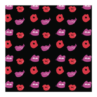 Kiss and Tell Self-Launch Wrapping Paper