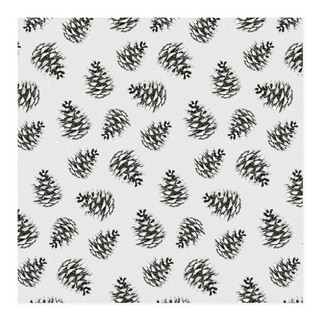 Pinecone Self-Launch Wrapping Paper