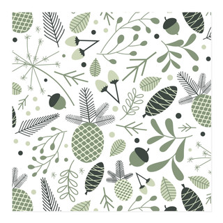 Forest Floor Paper Self-Launch Wrapping Paper