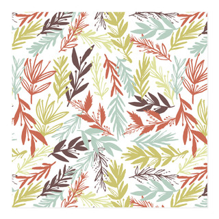 beaufitul leaves Self-Launch Wrapping Paper
