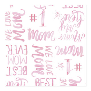 #1 Mom Self-Launch Wrapping Paper