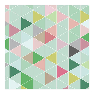 mosaic multi Self-Launch Wrapping Paper