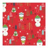 Holiday Whimsy Snow Cha... by Angela Rekucki