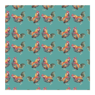 Rooster Wrapping Paper Self-Launch Wrapping Paper