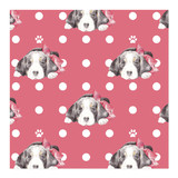 Beagles and Bows Wrappi... by Lauren Rogoff
