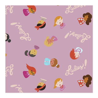 Ladies! Self-Launch Wrapping Paper