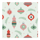 Retro Ornaments by Anne Holmquist