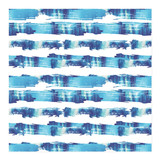 Brush Stroke Stripes Wrapping Paper
